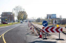 Még augusztus 31-ig tart a Bökényföldi út felújítása